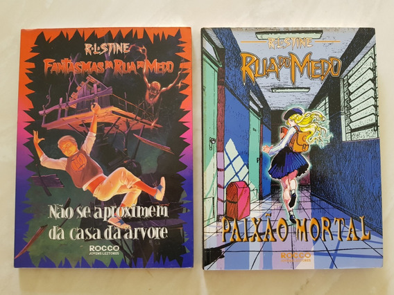 Rua Do Medo E Fantasmas Da Tua Do Medo R. L. Stine. Lote.