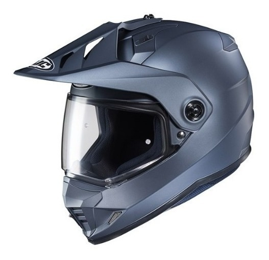 Casco Multiproposito Hjc Ds X1 Solid Gris Certificado