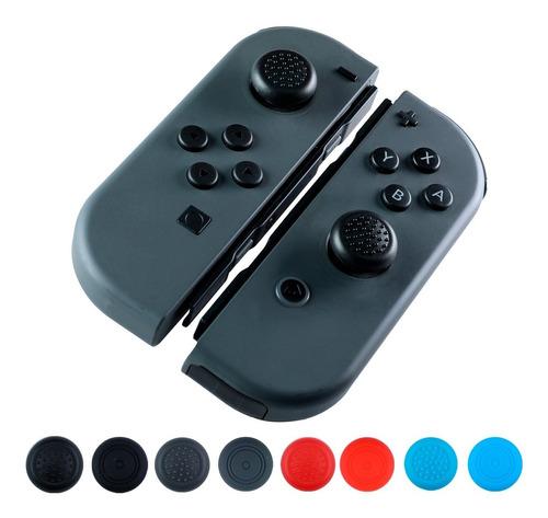 Imagen 1 de 8 de Gomas Control Joystick Nintendo Switch Protector Thumb 2 Pzs