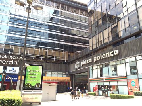 Imagen 1 de 6 de Oficina Renta En Plaza Polanco