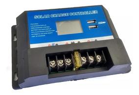 Controlador De Carga Placa De Painel Solar 12v 24v 20a