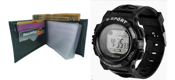 Relógio Digital Honhx Esporte Militar Prova Dágua Anti Risco
