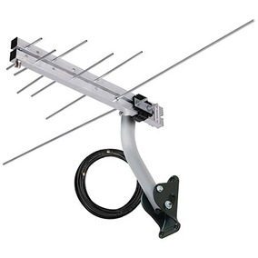 Antena Log Vhf/uhf/fm/hdtv Lvu-8, Cabo 8 Metros. 6 Elementos