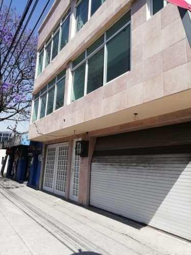 Edificio En Renta De 4 Niveles Uso Comercial Amplio