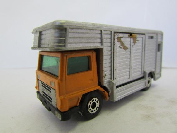 Escala 1/64 Matchbox Horse Box Nº 40 1977 Usado Jorgetrens