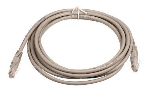 Cable De Red Noga Patch Cord 3 Metros Utp 5e Fichas Rj45