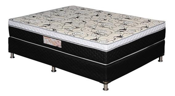 Sommier Deseo´s 1 1/2 Pza Rivera Esp D33 C/pillow 120x188