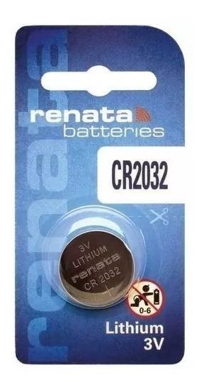 Bateria Cr2032 Lithium 3v - Renata - Com 5 Peças Co.542032