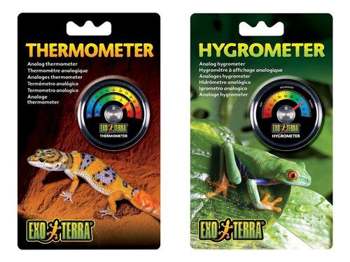 Termometro + Higrometro Para Reptiles