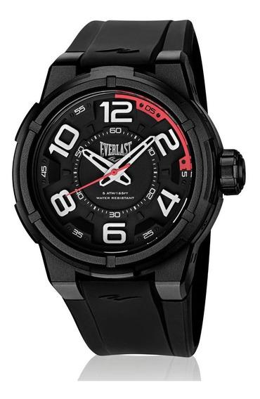 Relógio Pulso Everlast Torque E690 Caixa Abs Pulseira Preto