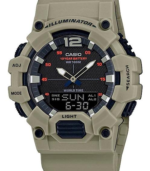 Relógio Casio Masculino Anadigi Hdc-700-3a3vdf