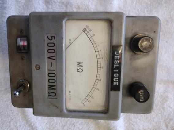 Megômetro Antigo Raridade 1969 Vintage Para Colecionador