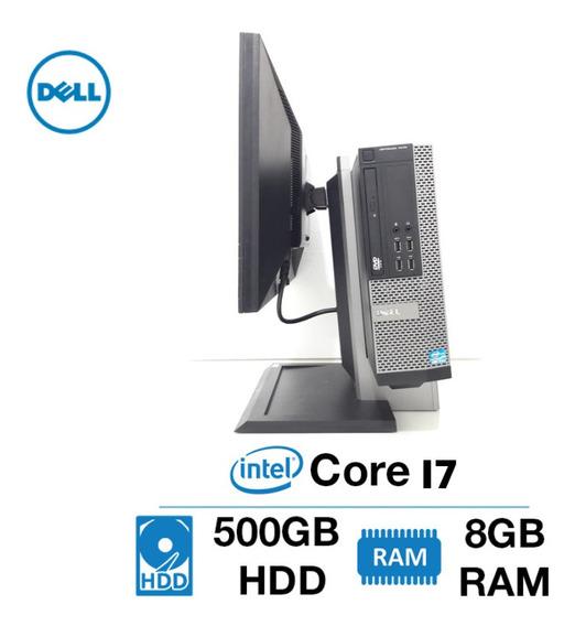 Kit Pc Dell 7010 Sff Core I7 3° Ger. 8gb 500gb Monitor 22