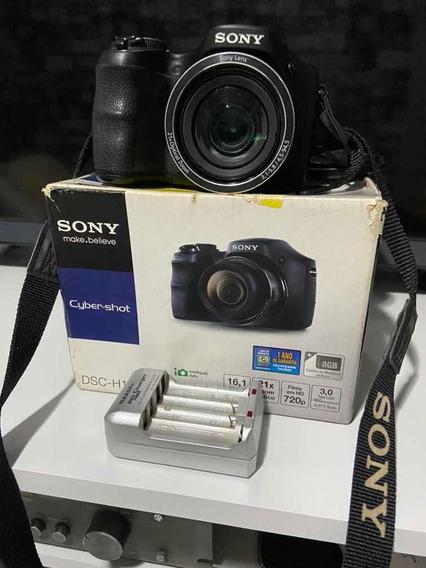 Câmera Sony Dsc-h100