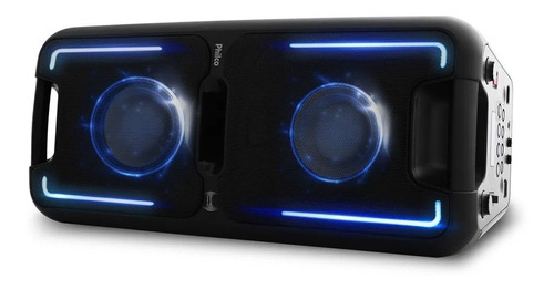 Caixa Acústica Philco Pcx5501n Effects 250w Bluetooth
