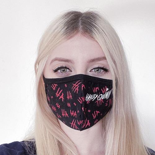 Máscara Facial Harley Quinn - Arlequina Filme Piticas 3992