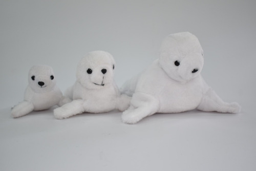 Kits Familia Lobos Marinos (15cm,19cm,25cm)  Mundo Marino