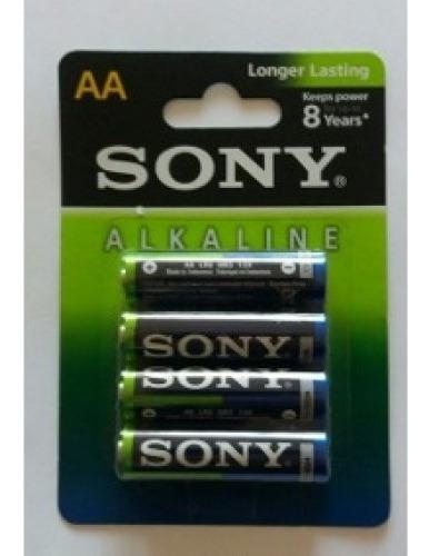 Pilha Alcalina Aa C| 04 Uni Sony