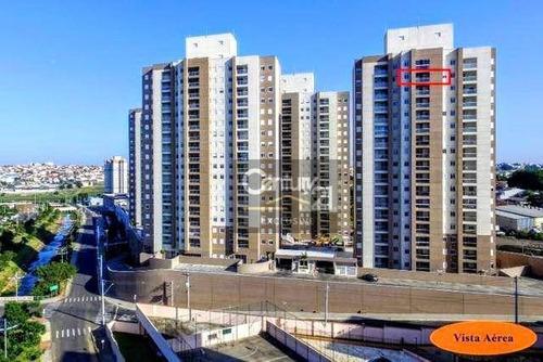 Apartamento À Venda, 73 M² Por R$ 405.000,00 - Condomínio Premium Residence - Indaiatuba/sp - Ap0277