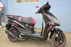 Moto Akt Jet4 Como Nueva