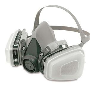 Respirador Máscara Pintura 3 M 6200+6001+5n11+501- Completa