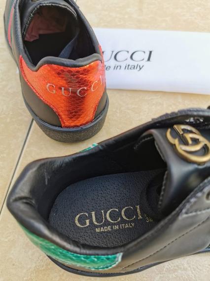 Tenis Gucci Unisex Nuevos Moda Dama Caballero ¡=)
