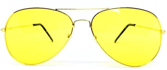 Óculos Bl Night Drive Para Dirigir À Noite - Dourado