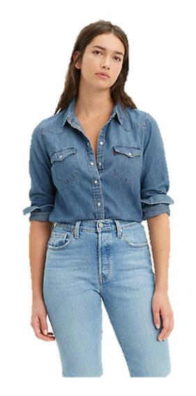Camisas Jeans Denim Para Dama