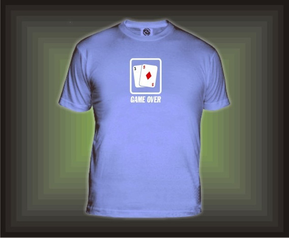 Remeras De Poker, Game Over De Estudioafrica