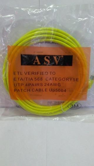 Cables De Red 3 Metros.