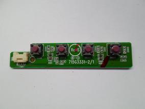 Placa De Teclado Do Monitor Philips Tft22w90psa