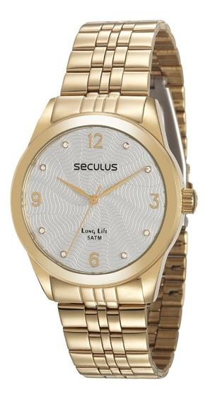 Relógio Feminino Seculus 28945lpsvda1