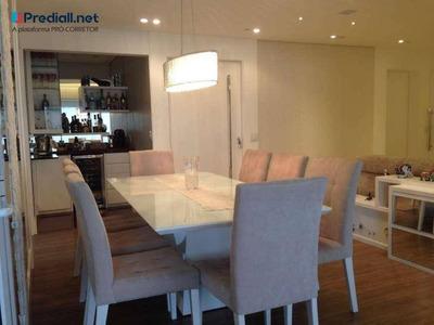 Apartamento Com 3 Dormitórios À Venda, 140 M² Por R$ 1.800.000 - Bosque Da Saúde - São Paulo/sp - Ap3314