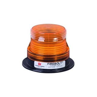 22010002 Lámpara Estrobo Firebolt Plus En Color Ámbar