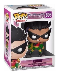 Funko Pop! Television: Teen Titans Go - Robin #606
