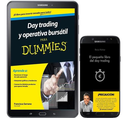 Pequeño Libro Day Trading + Operativa Bursatil Dummies + 46l