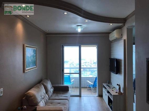 Apartamento Com 2 Dormitórios - Prédio Novo À Venda, 68 M² Por R$ 350.000 - Centro - São Vicente/sp - Ap0053