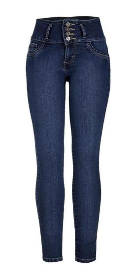 Jeans Casual Lee Mujer Skinny Pretina Alta H41