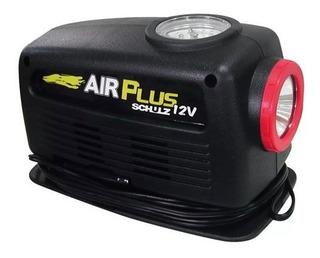 Mini Compressor Portátil Analógico 12v Air Plus Schulz