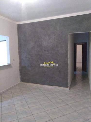 Imagem 1 de 5 de Casa Com 2 Dormitórios, 100 M² - Venda Por R$ 210.000,00 Ou Aluguel Por R$ 900,00/mês - Parque Residencial Zabani - Santa Bárbara D'oeste/sp - Ca1894