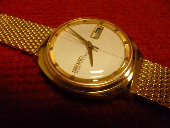 Relógio Seiko Weekdater, Muito Novo, 1964/5, Gold Plated