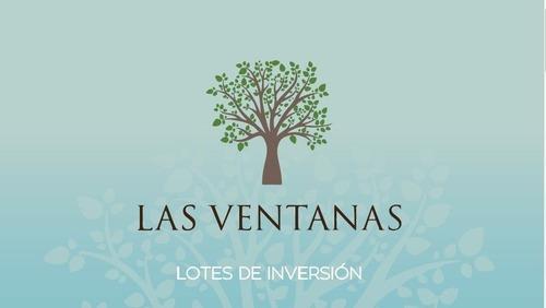 Lotes De Inversion En Sisal, Las Ventana De 1000 Y 500 Mtss.