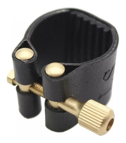 Braçadeira Para Sax Alto Saxofone Abraçadeira Couro Sintétic