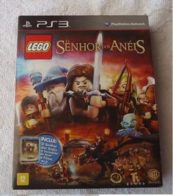 Lego Senhor Dos Aneis Jogo + Filme(lacrado) Ps3 Frete Gratis