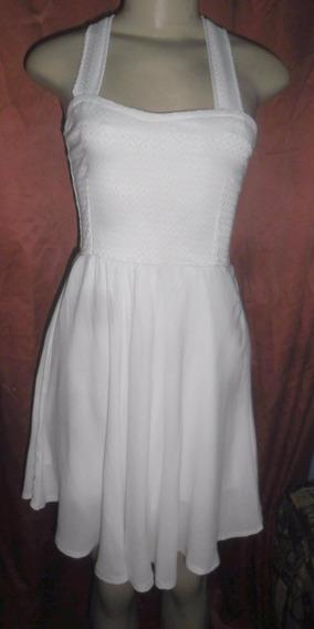 Vestido Branco Longuete