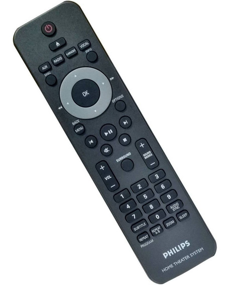 Controle Original Home Theater Ht Philips Hts2500 Hts2500/78