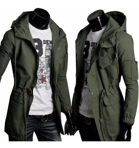 Chaqueta Militar Verde Army Fashion Casual Warm Winter //