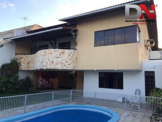 Casa Residencial À Venda, Capim Macio, Natal. - Ca0071