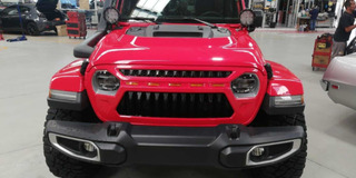 Parrilla Frontal Jeep Jl Wrangler Y Gladiator