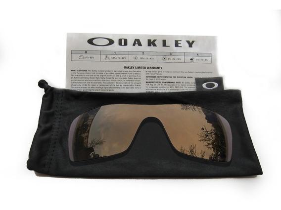 Mica De Reemplazo Para Oakley Batwolf Color Bronze